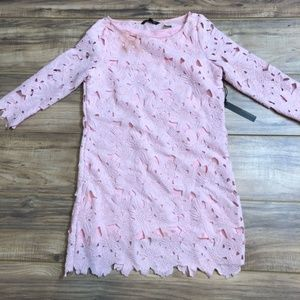 Felicity And Coco Belza Floral Lace Shift Dress